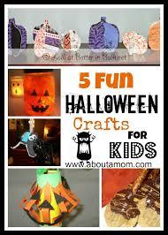 9 spooky fun halloween crafts for kids craft culture halloween