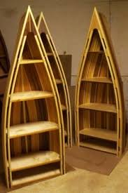 Wooden Canoe Shelf Plans by Bookcases Canoeing Cabin And Shelves