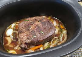 how to cook a pot roast in a crockpot