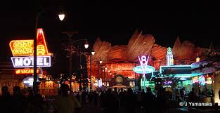 Image result for Disneyland california adventure cars land