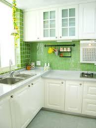 Green Glass Tiles For Kitchen Backsplashes Kitchen Design Exotic Kitchen Tile Designs Kitchen Wall