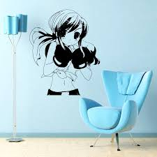 anime sexy girl boxer manga sport cute wall vinyl sticker decals anime sexy girl boxer manga sport cute wall vinyl sticker decals art mural d2002