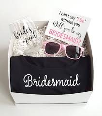 will you be my bridesmaid will you be my bridesmaid gift box 2 personalized brides