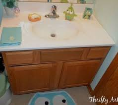How To Remove Bathroom Vanity The Best Lowcost Ways To Replace Or Redo A Hideous Bathroom Vanity