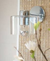 Modern Bathroom Wall Sconce Modern Bathroom Sconce Home Improvement Ideas