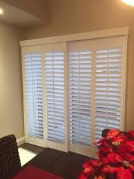 Bypass Shutters For Patio Doors Budget Blinds Port Orange Custom Window Coverings Shutters