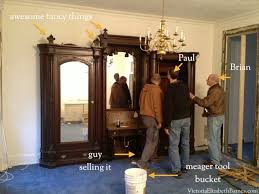 Selling Used Kitchen Cabinets by My Greatest Craigslist Find Salvaging A Giant Antique Victorian