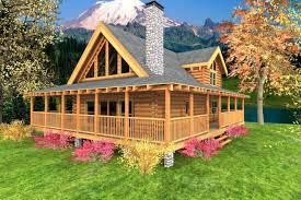 log homes with wrap around porches one story log cabin with wrap around porch bistrodre porch and
