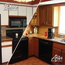 Resurfaced Kitchen Cabinets Before And After Best 25 Resurfacing Cabinets Ideas On Pinterest Resurfacing