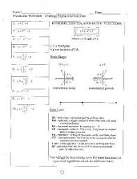 exponential functions growth u0026 decay worksheet e3 mrart