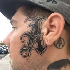 50 bad face tattoos that are good for halloween 2018