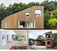 Sustainable Design Made Of Shipping Containers Home Design - Sea container home designs