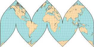 what is a map projection map projections interrupted maps