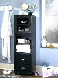 Bathroom Floor Storage Cabinet Bathroom Storage Cabinets Floor To Ceiling Cupboard Fabulous White