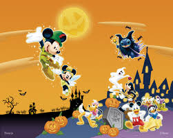 happy halloween screensavers wallpaper disney halloween