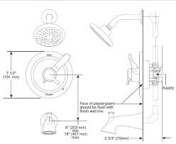 Delta Tub Faucet Repair Instructions Delta Shower Rough Valve Installation Terry Love Plumbing