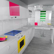 pink kitchen design ideas with pendant lamps kitchen colorful kitchen ideas with white cabinet set and sink