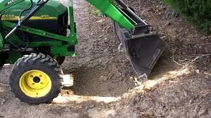 john deere 4110 front end loader demo youtube