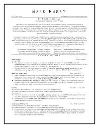 Database Developer Sample Resume by Top Resume Samples Executive Format Resumes By New York Resume