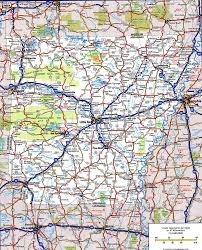 Road Map Usa Road Map Of Arkansasfree Maps Of Us