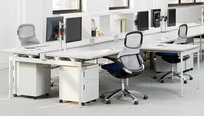 Bench Office Address Open Plan Design And Planning Knoll