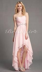 a linie herzausschnitt knielang chiffon brautjungfernkleid mit gestupft p551 bridesire vintage brautjungfernkleider vintage