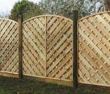 decorative trellis panels garden treated fence panels fencing supplies lawsons
