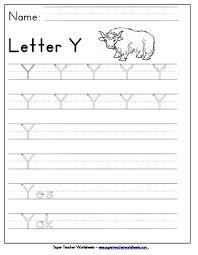 letter y worksheets recognize trace u0026 print