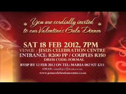 valentine u0027s gala dinner youtube