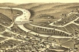 Map Of Ann Arbor Take A Fly Through Tour Of Ann Arbor Circa 1880 Mlive Com