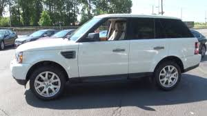 land rover 2010 price 2009 land rover range rover sport hse 300 hp 4 4 v8 awd youtube