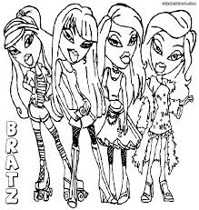 bratz coloring pages coloring pages to download and print