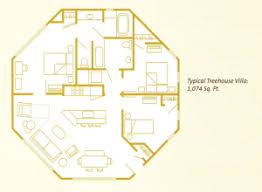 disney saratoga springs treehouse villas floor plan disney s saratoga springs resort spa saratoga springs resort
