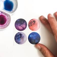 space tattoo galaxy astronomy tattoo watercolor tattoo
