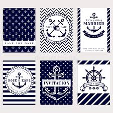 nautical themed wedding invitations nautical wedding invitations stock vector image 68672498