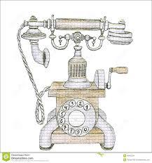watercolour old telephone buscar con google templates art
