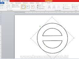 membuat logo kelas dengan photoshop cara membuat logo desain stempel di ms word kusnendar
