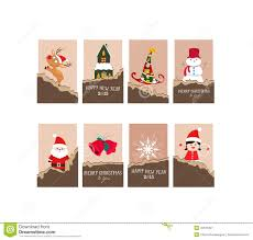 christmas gift cards stock vector image 45513307