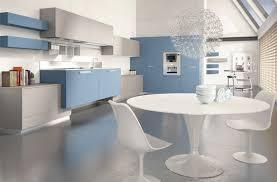 cuisine gris et bleu deco cuisine gris bleu idée de modèle de cuisine