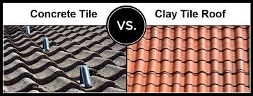 Concrete Tile Roof Repair Concrete Tile Vs Clay Tile Guide To Roofing Repair Installation