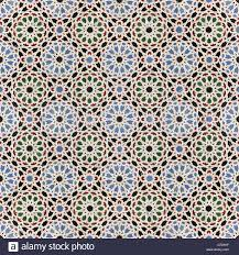 Moroccan Pattern Art Moroccan Wall by Oriental Mosaic Background Morocco Wall Tiles Stock Photo