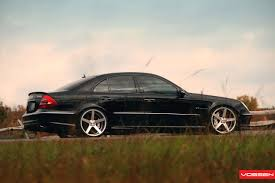 mercedes jeep 6 wheels mercedes benz e 55 amg w211 on vossen wheels photo collection