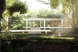 Farnsworth House Cgarchitect Professional 3d Architectural Visualization User