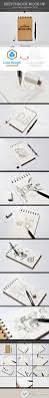 sketchbook mock up 8613061 free download photoshop vector stock
