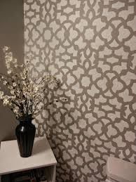 bathroom stencil ideas weathered wood gray paint walmart cheap brand zamira stencil