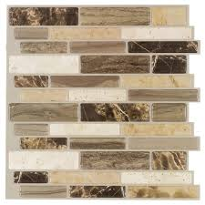 Italy Stone Peel  Stick Wall Tile Mineral Tiles - Peel and stick wall tile backsplash