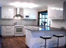 white kitchen cabinets with vinyl plank flooring general contractors kitchen remodeling portland or ikea