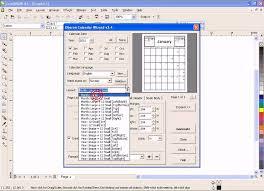 corel draw x4 error reading file create calendar with coreldraw x4 desktop publishing tips