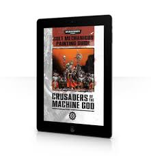 crusaders of the machine god cult mechanicus painting guide
