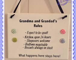 grandparent plaques grandparents etsy